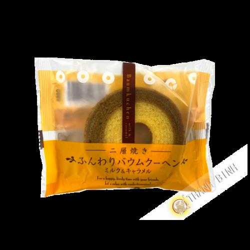 Gateau Bamkuchen Mini Caramel et lait BAUMKUCHEN 75g Japon
