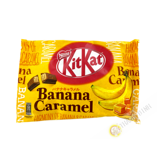Kitkat banane - caramel NESTLE  118.8G Japon