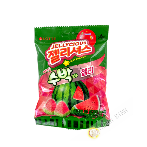 Caramelo pasteque gomoso RAPE 56g Corea