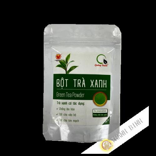 Thé vert en poudre QUANG THANH 50g Vietnam