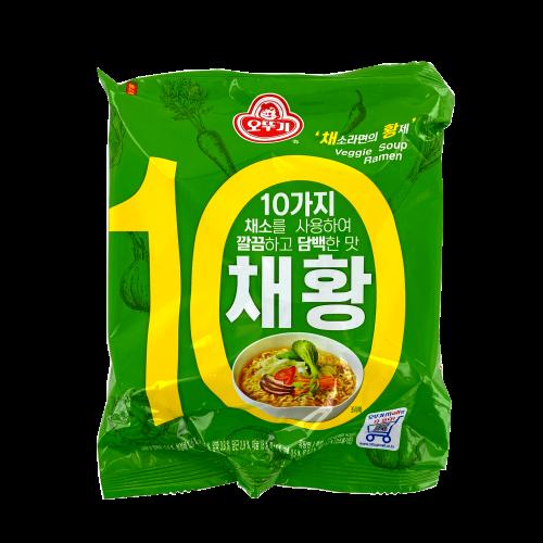 Noodle soup ramen vegetarian OTTOGI 120g Korea