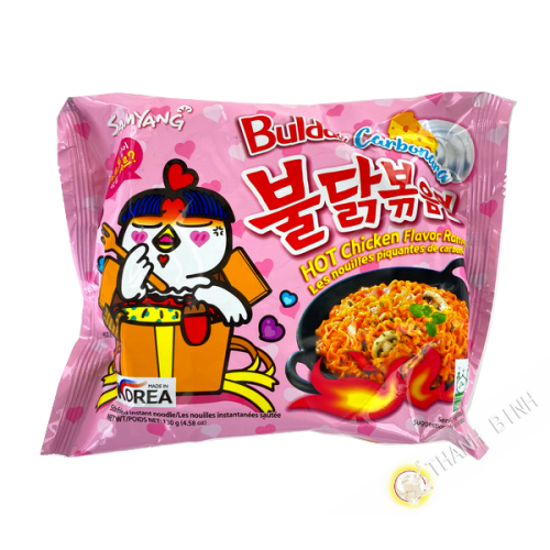 Fideos Ramen picante mara SAMYANG 5x135g Corea