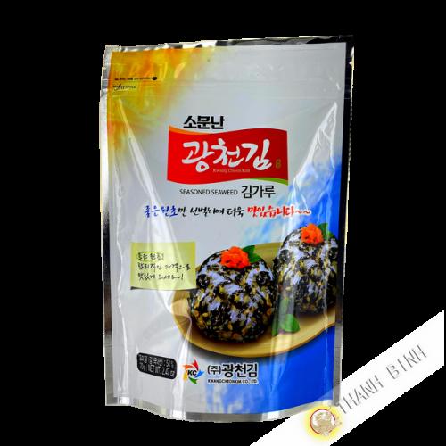 Flocon algue nori sésame KC 70g Corée