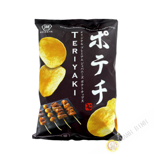 Chips de pommes de terre avec assaisonnement teriyaki 100g KOIKEYA Japon