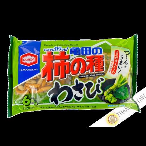Apéritif au riz Wasabi 182g KAMEDA Japon