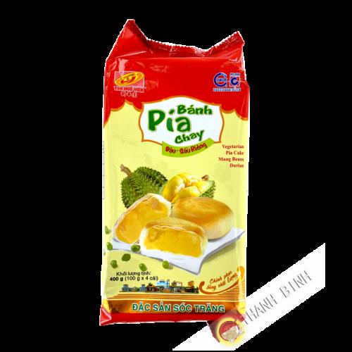 Pia cake mung bean durian 400g TÂN HUÊ VIÊN Vietnam