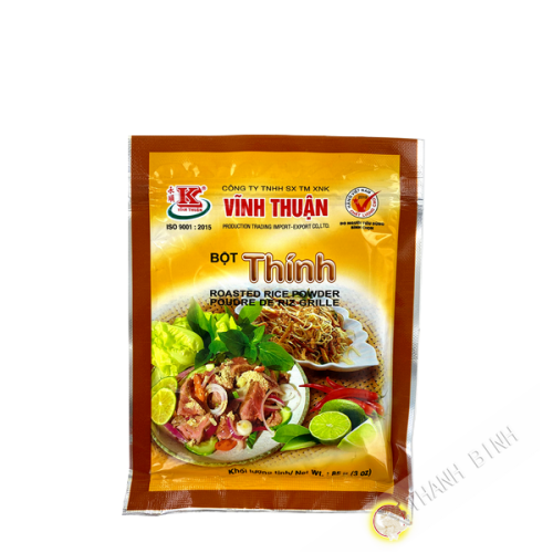 Poudre de riz grillé VINH THUAN 85g Vietnam