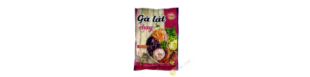 Vegetarian preparation chicken Sliced Ga Lat Chay AU LAC 100g Vietnam