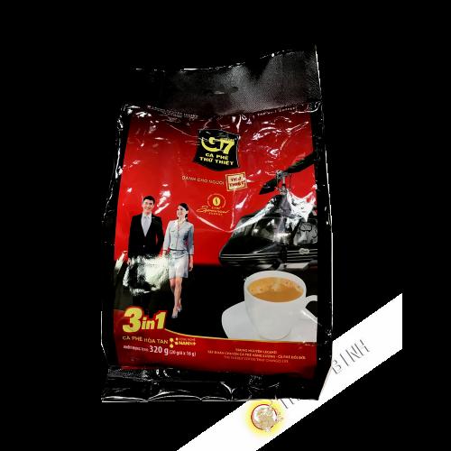 Café crème soluble 3 en 1 G7 TRUNG NGUYEN 320g Vietnam