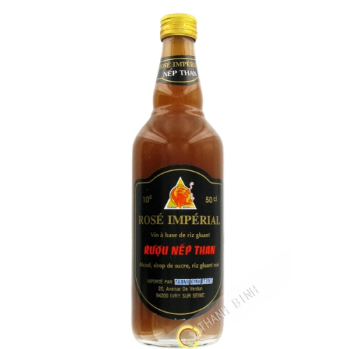 Fermented in sticky rice, black 500ml 10°