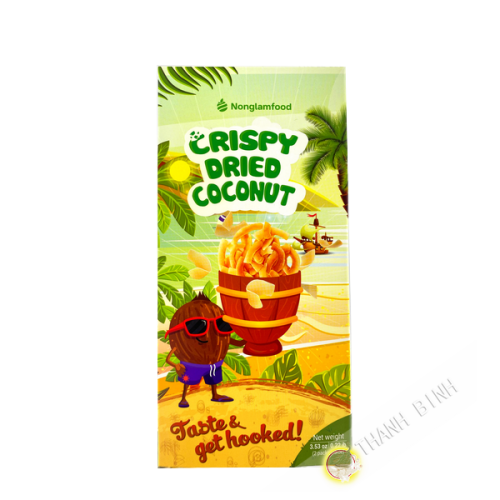 Coco séché Crispy coconut 100g