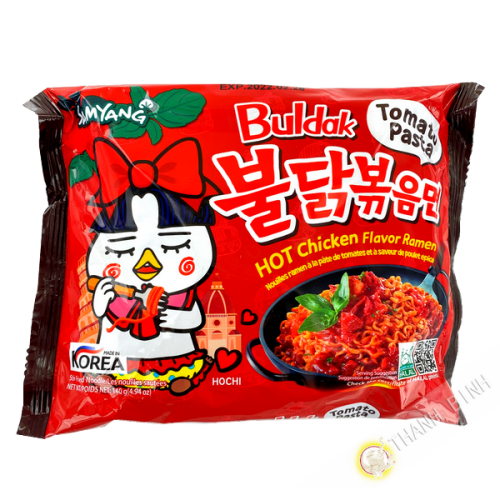 Nouille ramen hot chicken tomate SAMYANG 140g Corée