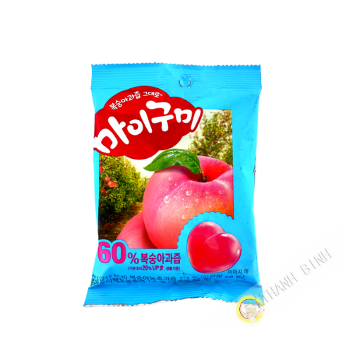 Gummy Pêche 66g Corée
