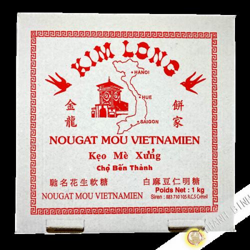 Nougat mou Vietnamien 1kg KIM LONG