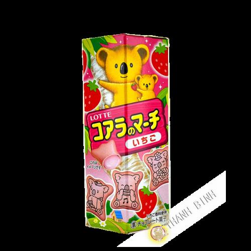 Biscuit Kaola fraise LOTTRE 48g