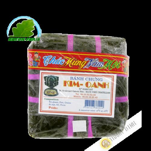 Kuchen und Klebrigen Reis, Soja, Schweinefleisch Banh Chung KIM OANH 750g Frankreich