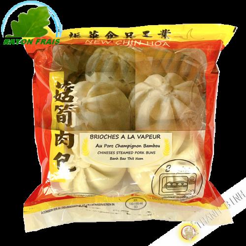 Brioche à la vapeur au porc champignon bambou NEW CHIN HOA 480g - FRAIS