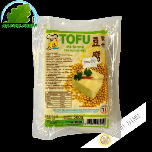 Tofu maison mi-ferme SOUN SOUN 500g France - FRAIS