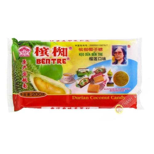 Bonbon Coco Durian BEN TRE 200g Vietnam