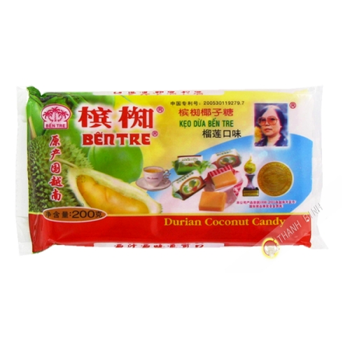 Caramelle di Cocco Durian 200g
