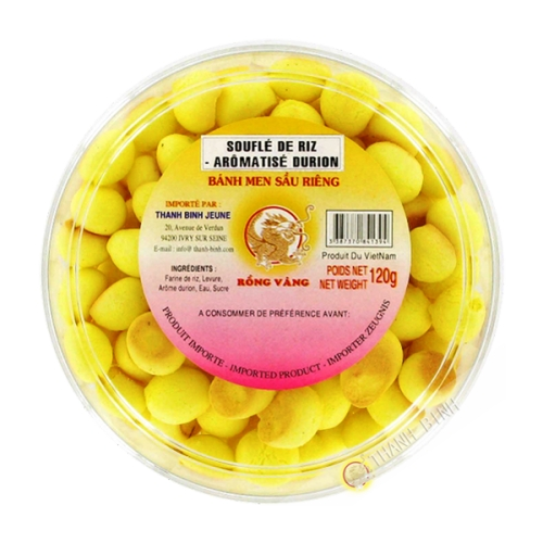 Soufle de arroz durian 120g
