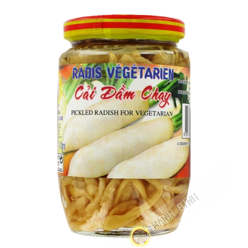 Rábano salmuera vegetariana DRAGÓN de ORO 430g Vietnam