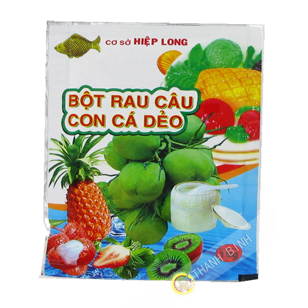 El Agar agar Con Ca Deo HIEP LARGO 10g de Vietnam