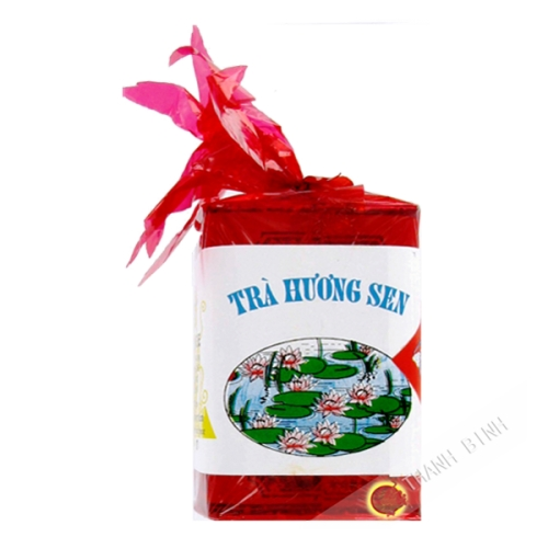 Thé lotus boîte rouge DRAGON OR 100g Vietnam
