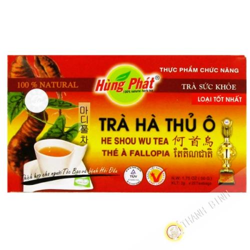 La infusión de té rojo COLGADO PHAT 50g de Vietnam