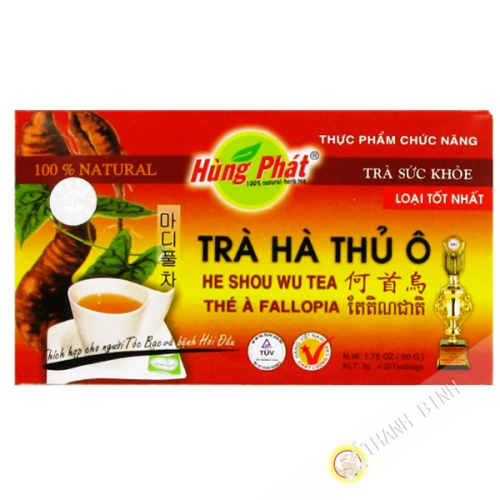 Thé infusion rouge HUNG PHAT 50g Vietnam