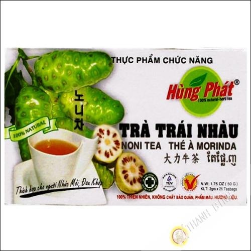 El té de noni trai uso COLGADO PHAT 50g de Vietnam