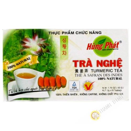 Tè, zafferano e curcuma APPESO PHAT 50g Vietnam