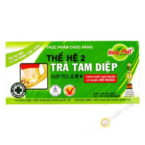 Tè di dimagramento di Tam Diep n°2 HUNG PHAT 60g Vietnam