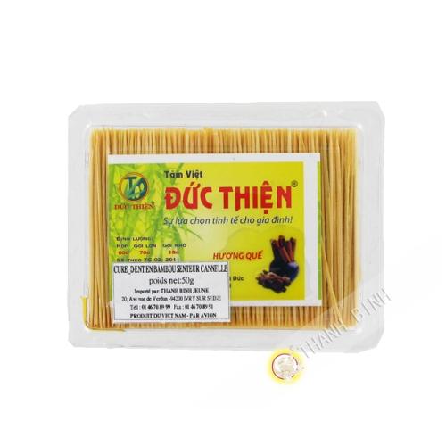 Cure dent bambou senteur cannelle 50g Duc Thien