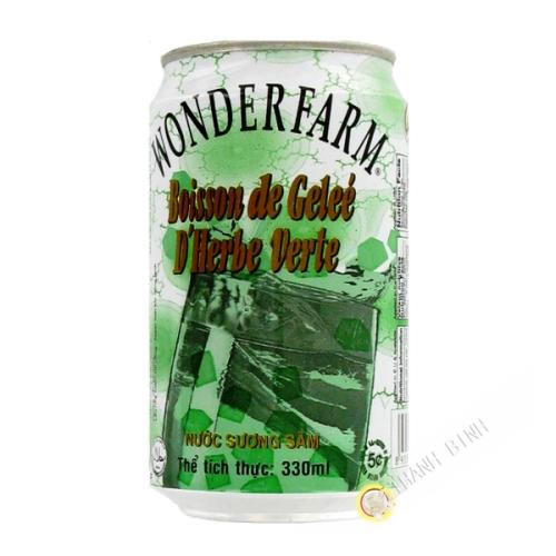 Boisson gelée verte WONDERFARM 330ml Vietnam