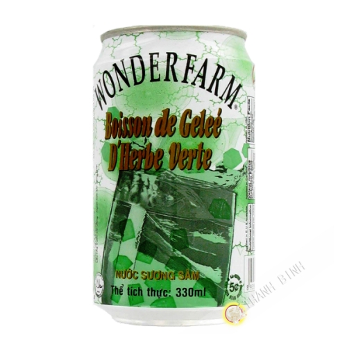 Drink green jelly WONDERFARM 330ml Vietnam