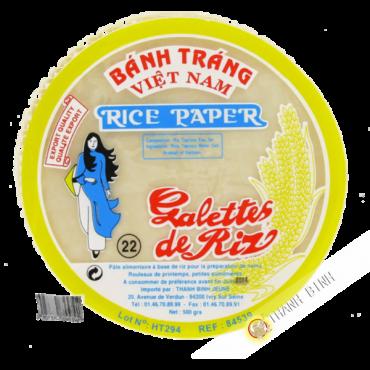 Galette riz 22cm 500g