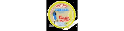 Galette de riz 22cm pour nems Jeune Fille Vietnam 400g