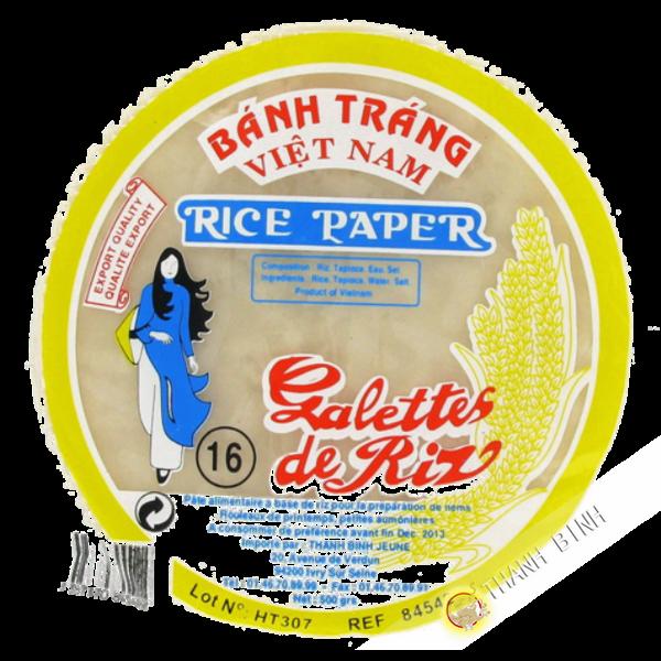 Rice paper 16cm for nems FEUNE DAUGHTER 400g Vietnam