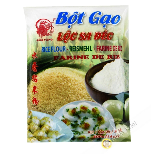 Amidon de riz moulu DRAGON OR 400g Vietnam