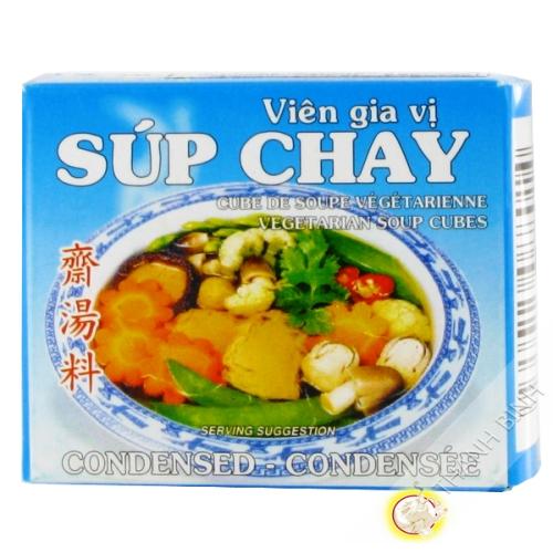 Cube soupe végétarien BAO LONG 75g Vietnam