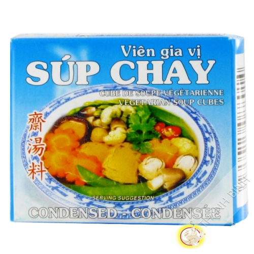 Cubo zuppa vegetariana 75g