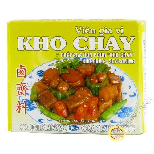 Cube ragoût végétarien BAO LONG 75g Vietnam