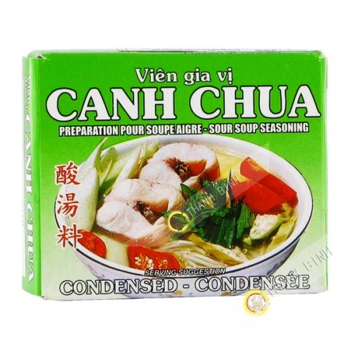Cubo de sopa, dulce y agrio canh chua BAO LARGO 75g de Vietnam