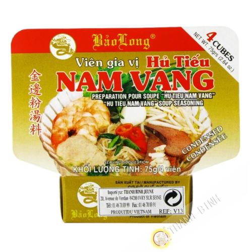 Cube hu tieu nam vang BAO LONG 75g Vietnam