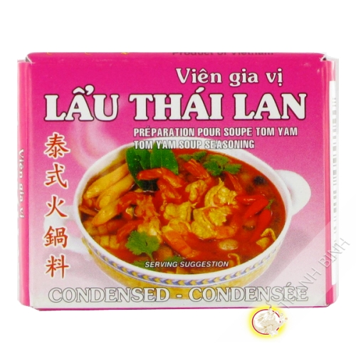 Cubo de tom yum BAO LARGO 75g de Vietnam