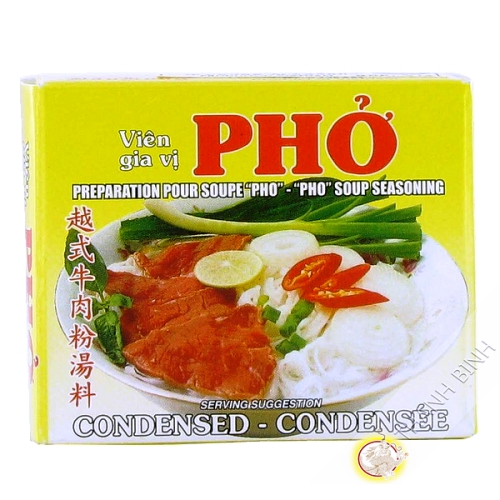 Cube pho beef 75g