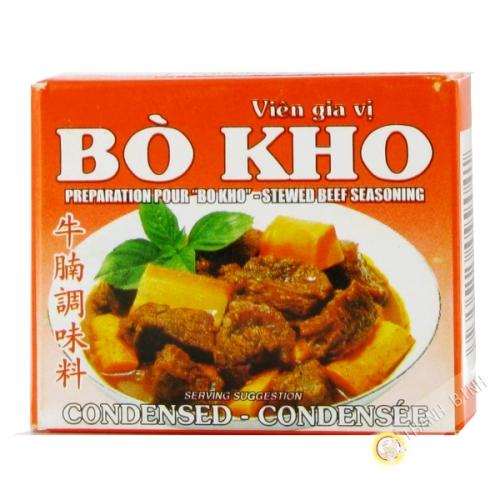 Cubo de estofado de carne bo kho BAO LARGO 75g de Vietnam