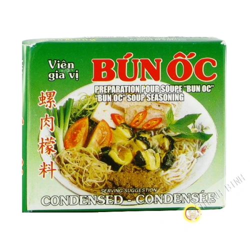 Cubo de fideos de caracol bun oc BAO LARGO 75g de Vietnam