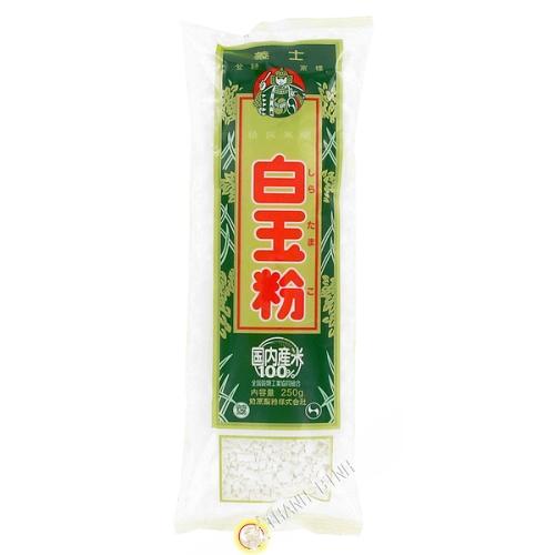 Rice flour in granulated GISHI 250g Japan